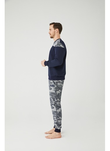 Mod Collection Erkek Pijama Takımı Lacivert